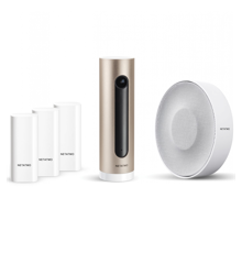Netatmo -  Complete Smart Alarm System  Included - Indoor Camera, With Indoor Siren And Smart Door and Window Sensors - Bundle