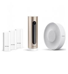 Netatmo - Komplet Smart Alarmsystem Inkluderet - Indekamera, Med Indendørs Sirene Og Smarte Dør- Og Vinduesensorer - Bundle