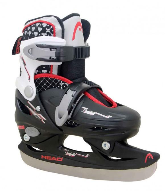 Head - Adjustable Ice Skate - Black (size: 27-30)
