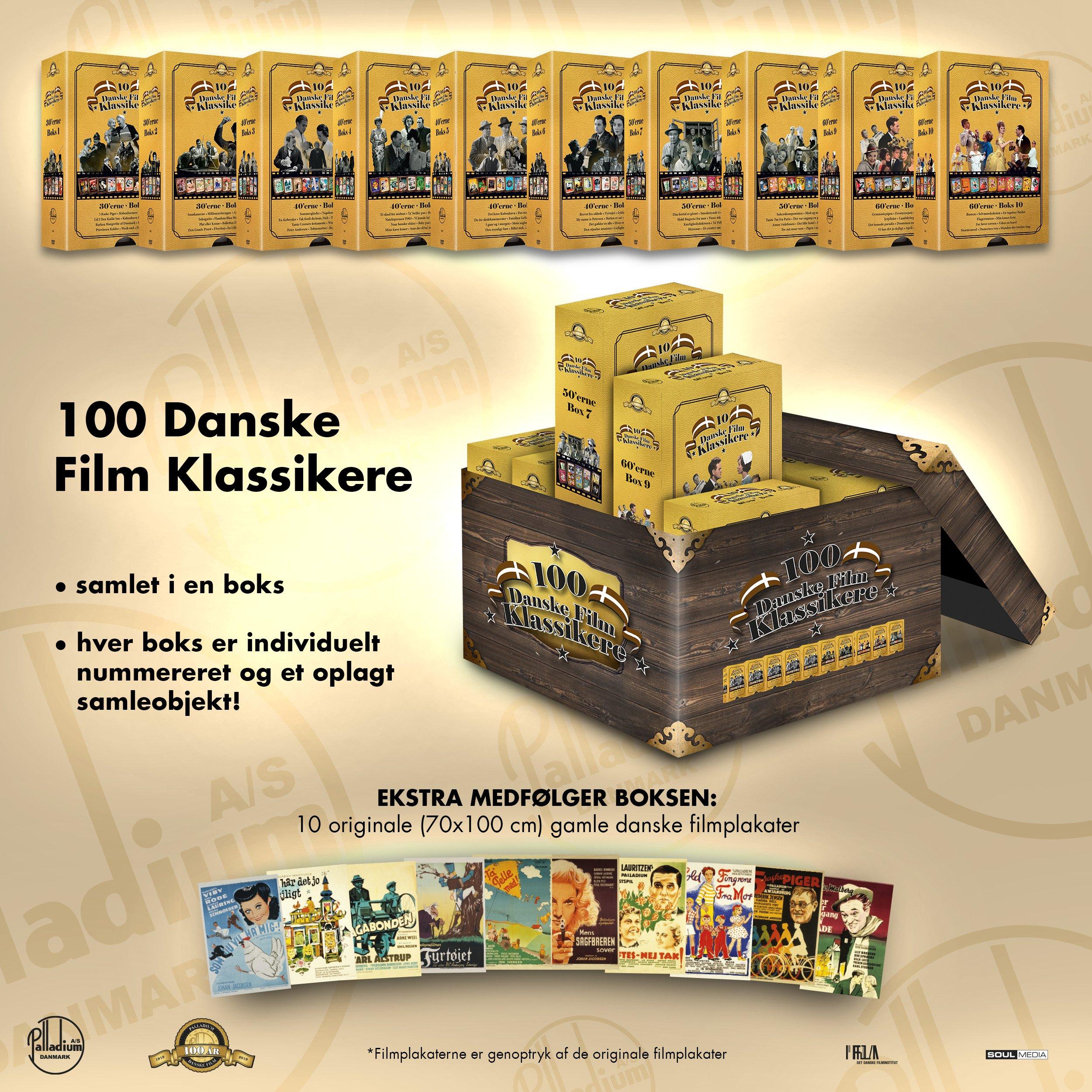 Palladium 100 Års Boks - DVD