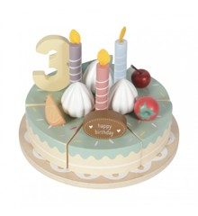 Little Dutch - Wooden birthday cake (4474)