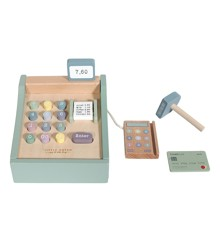 Little Dutch - Wooden toy cash register with scanner (4469)