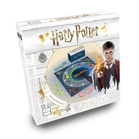 Harry Potter Quiz - Brætspil (Dansk)