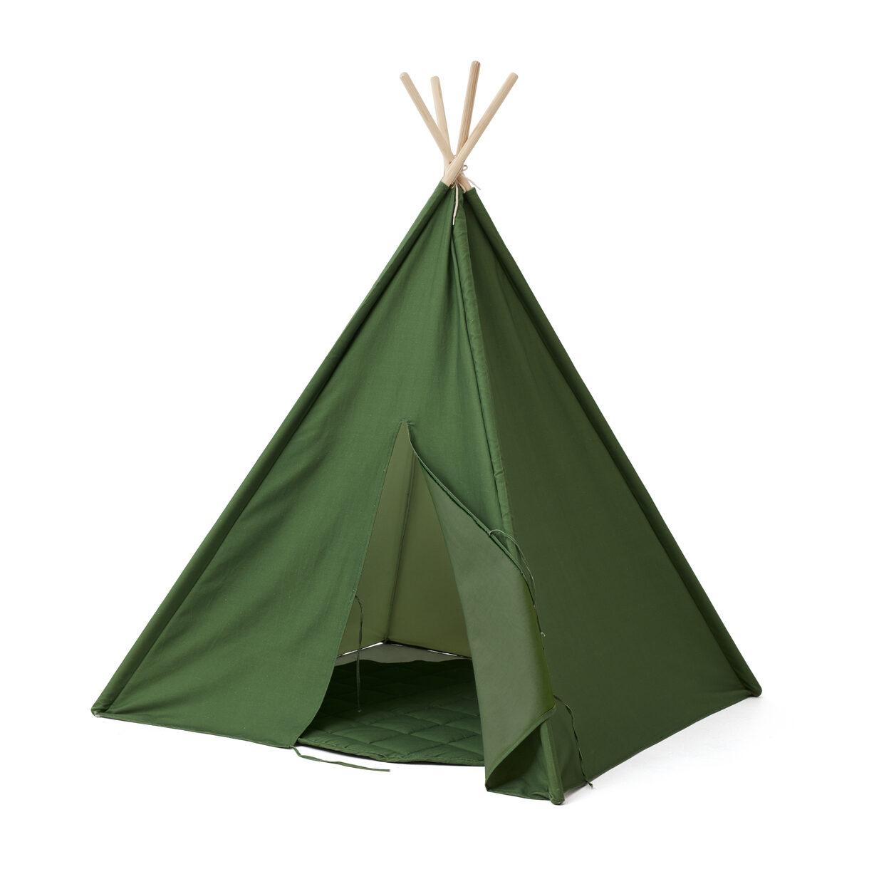 Kids Concept - Tipi Tent - Green (1000477)