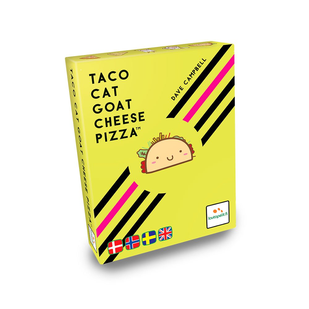 Taco Cat Goat Cheese Pizza - Brætspil (Engelsk & Nordisk)