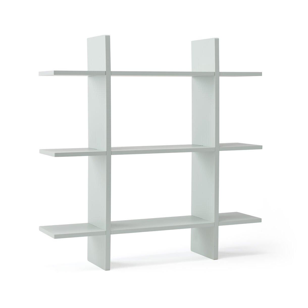 Kids Concept - Wall Shelf with 3 Levels - Light Green (1000439)