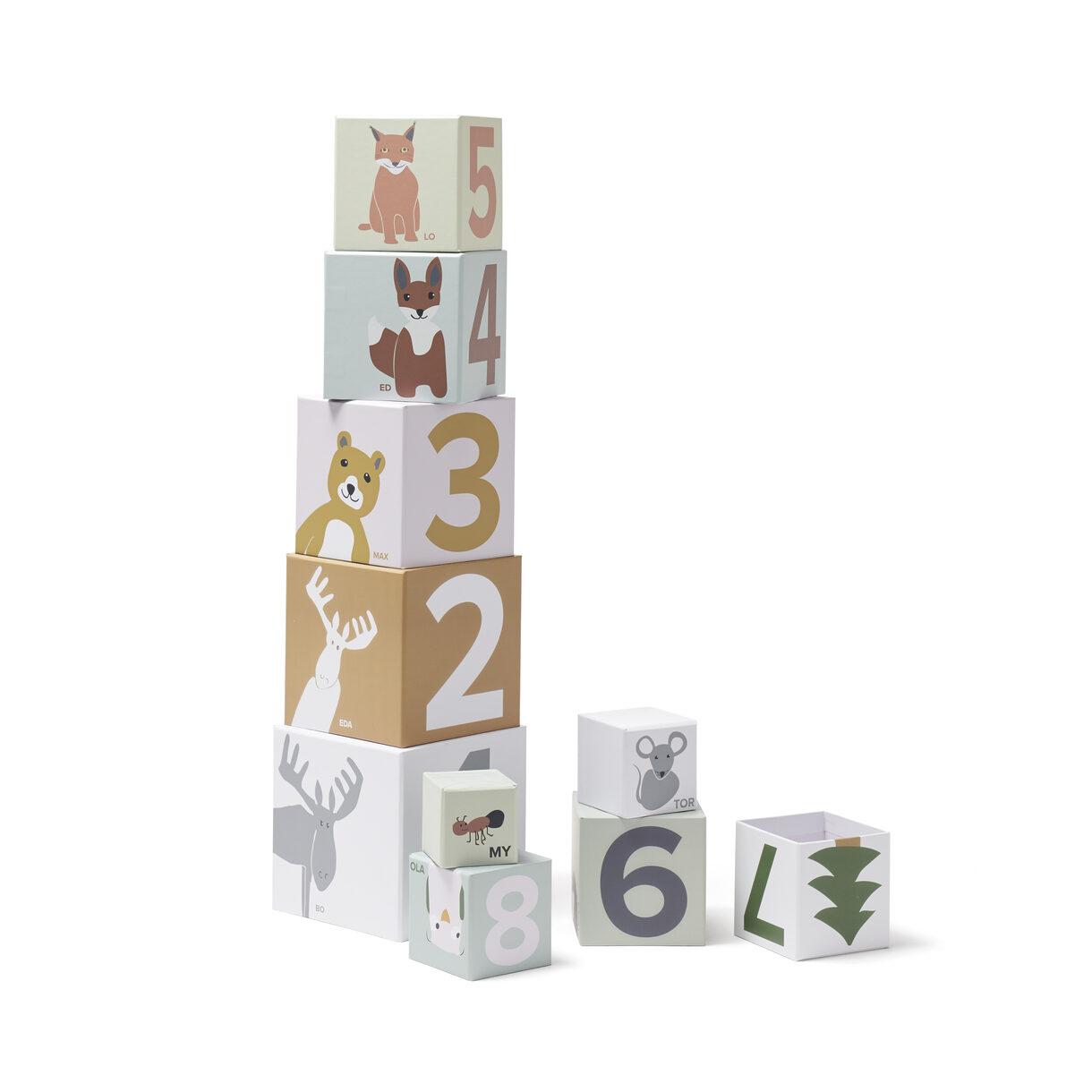 Kids Concept - Paper Cubes 1-10 - Edvin (1000452)