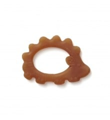 Kids Concept - Teether Rubber Natural - Hedgehog (1000459)