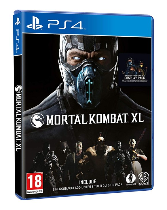 Mortal Kombat XL (IT) (EFIGS)