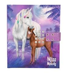 Miss Melody - Dagbog med Kode & Musik - Fuldmåne