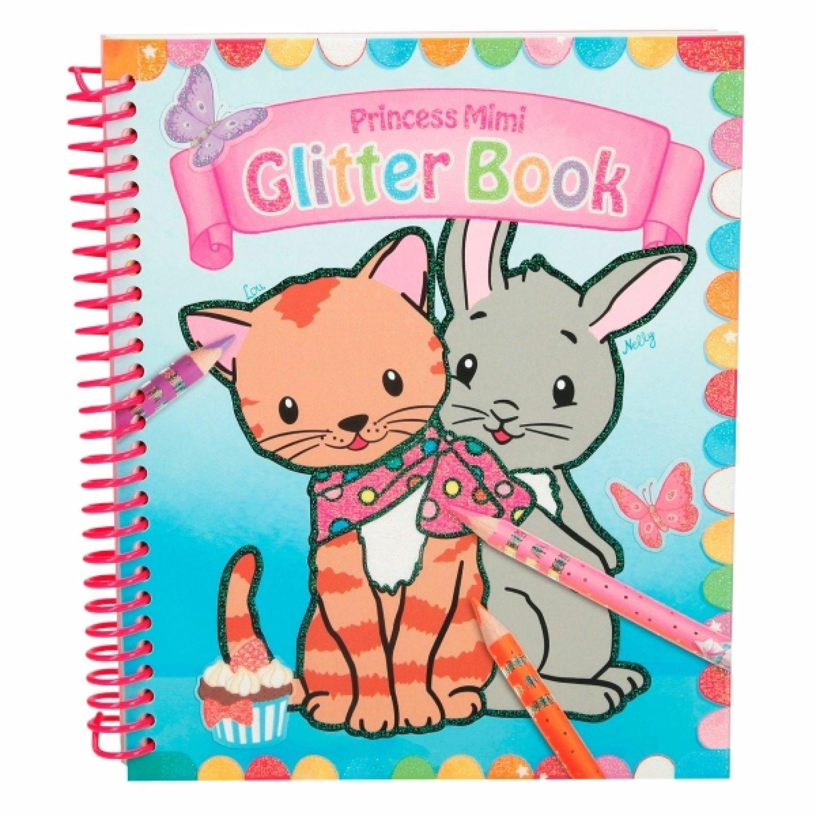 Princess Mimi - Glitter Colouring Book (48982)