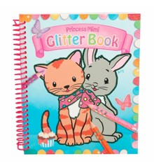 Princess Mimi - Glitter Colouring Book (48982)