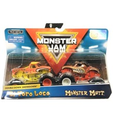 Monster Jam 1:64 2 Pack - El Toro Loco & Monster Mutt