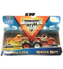 Monster Jam 1:64 2 Pakke - El Toro Loco & Monster Mutt