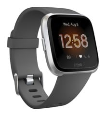 Fitbit - Versa Lite Charcoal/Silver