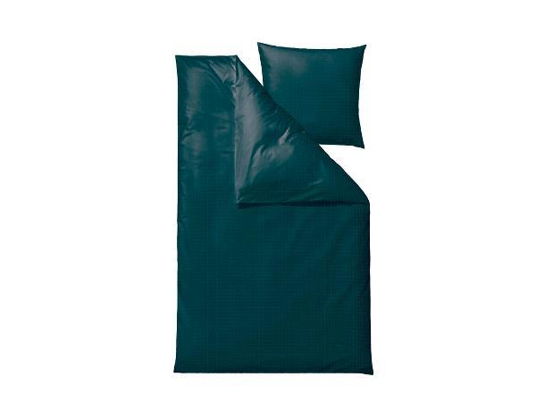 Södahl - Edge Bedding 140 x 200 cm - Dark Teal (727376)