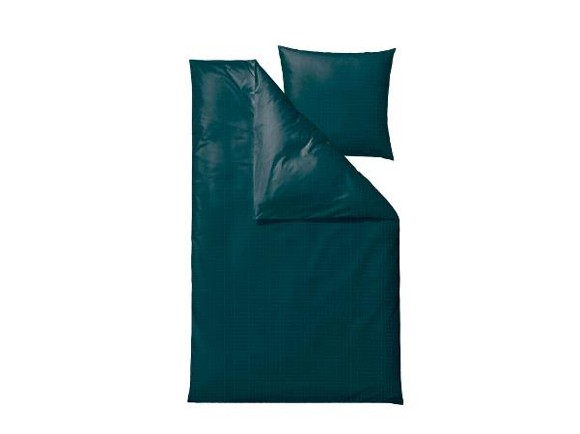 Södahl - Edge Bedding 140 x 200 cm - Dark Teal (727376)