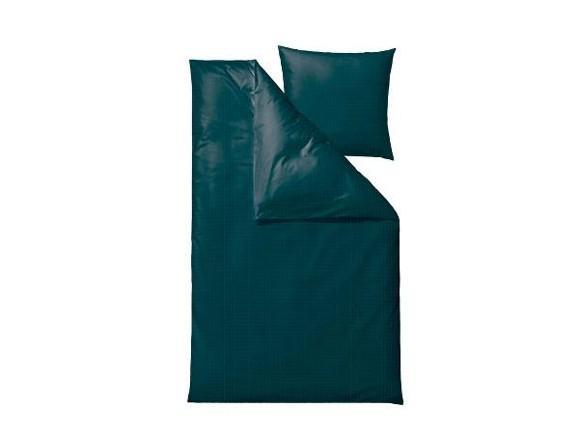 Södahl - Edge Sengetøj 140 x 200 cm - Dark Teal