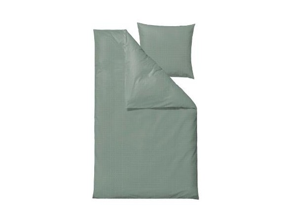 Södahl - Edge Bedding 140 x 200 cm - Leaf Green (727612)