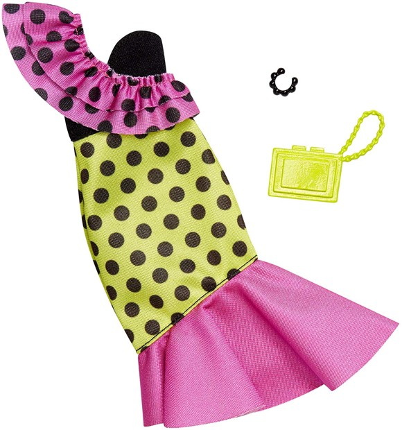 Barbie - Complete Looks - Multi Colour Dress