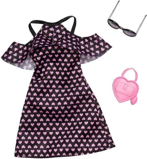 Barbie - Complete Looks - Black Heart Dress