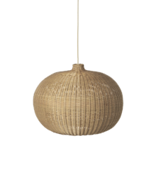 Ferm Living - Braided Belly Lamp Shade Ø 54 cm - Natural (100448206)