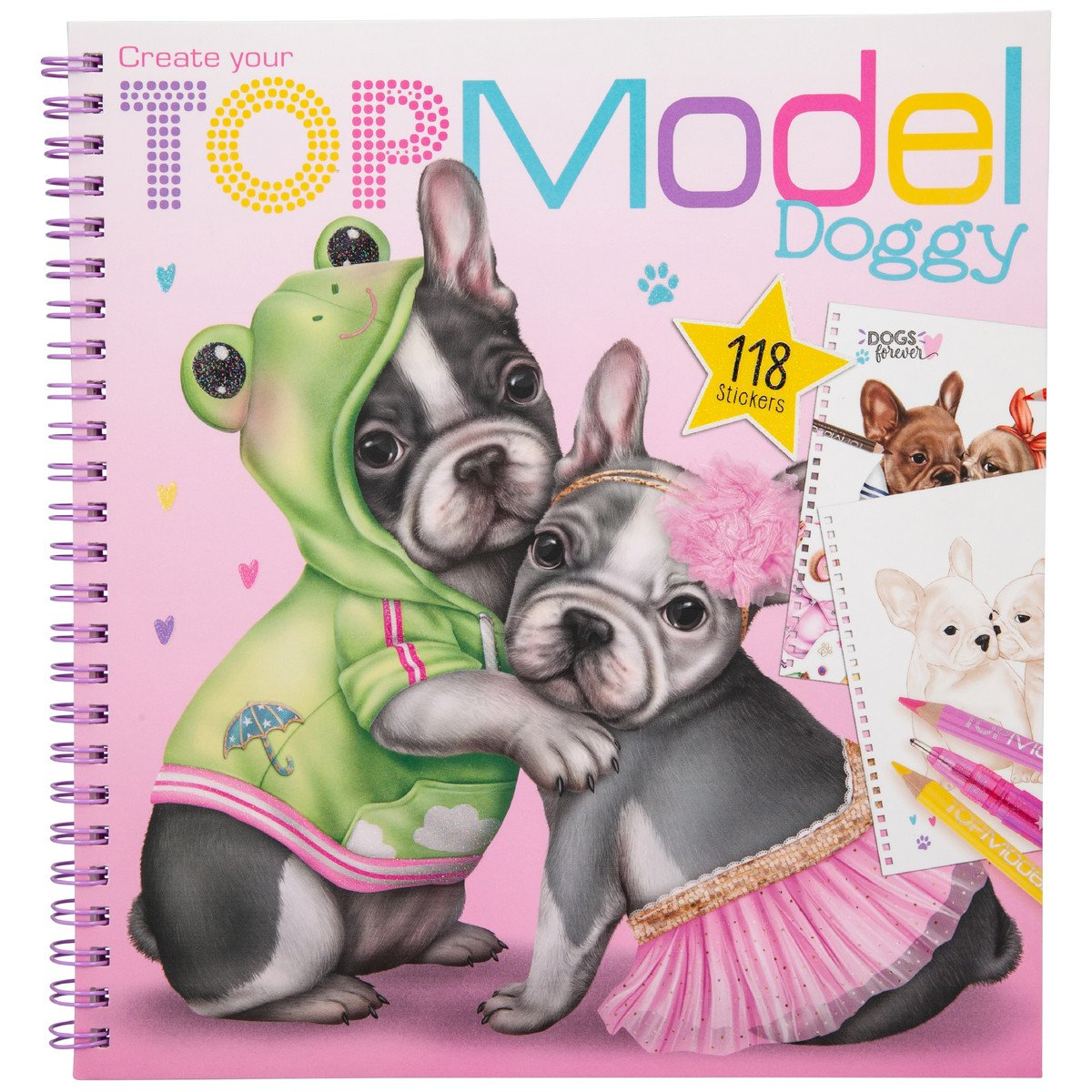 Top Model - Doggy Colouring Book (0411025)