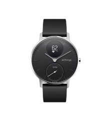 Withings - Steel HR Hybrid Smartwatch - 36mm Black