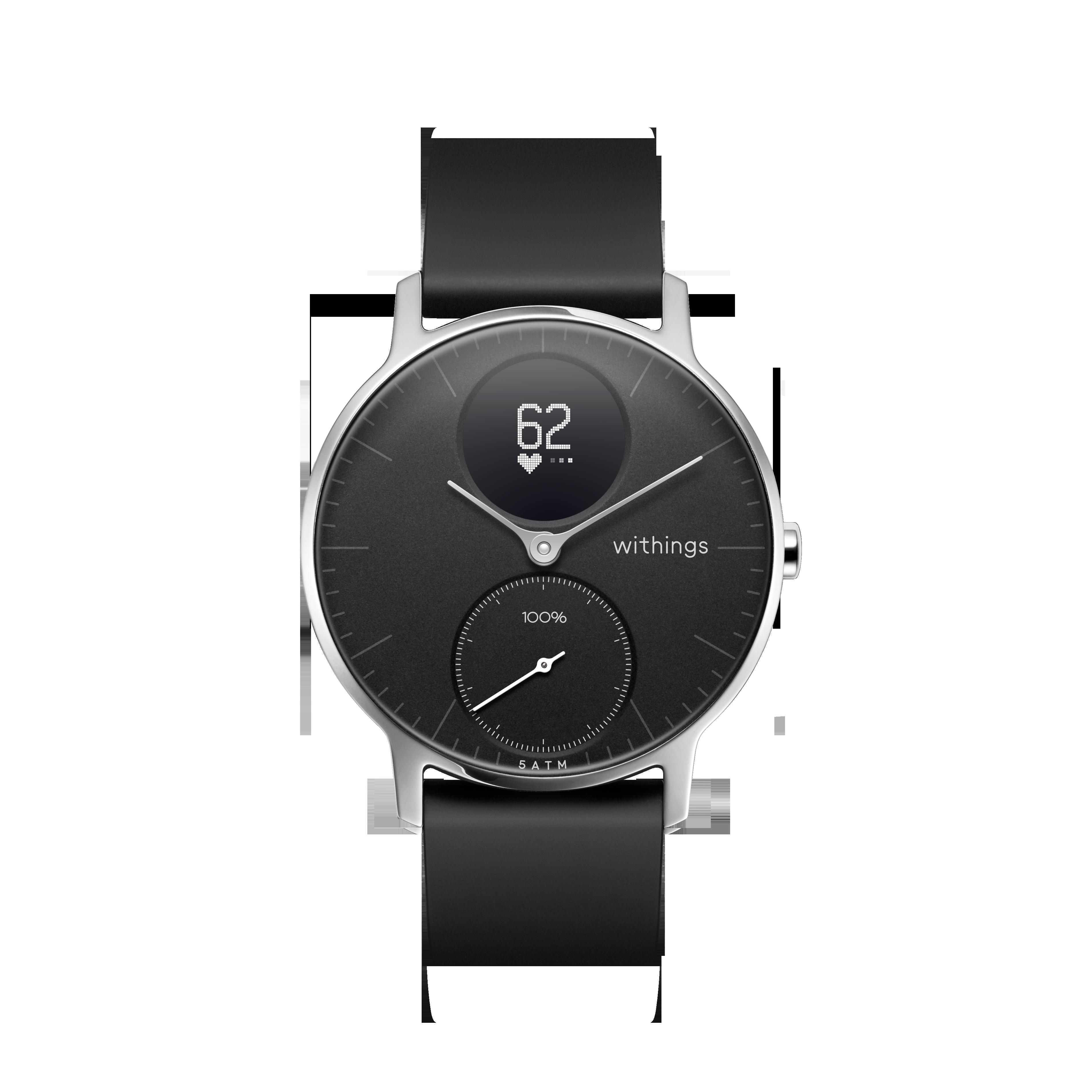 Withings - Steel HR  Hybrid Smartwatch - 40mm