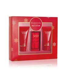 Elizabeth Arden - Red Door EDT 30 ml + Showergel 50 ml + Bodylotion 50 ml - Gavesæt