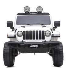 Azeno - Elbil - Jeep Wrangler Rubicon - Hvid
