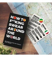 How to F**king Swear Around the World - Brætspil