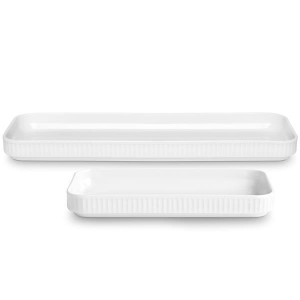 Pillivuyt - Plissé Tapas Dish Sæt - White (994236)