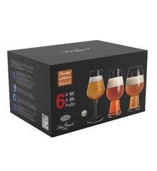 Luigi Bormioli -  Birrateque Beer Glass Set Ale & Hvede