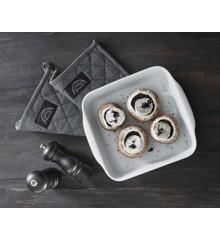 Pillivuyt - Roast Dish + Peugeot Grinder Gave Set - White (PILPEU 2)