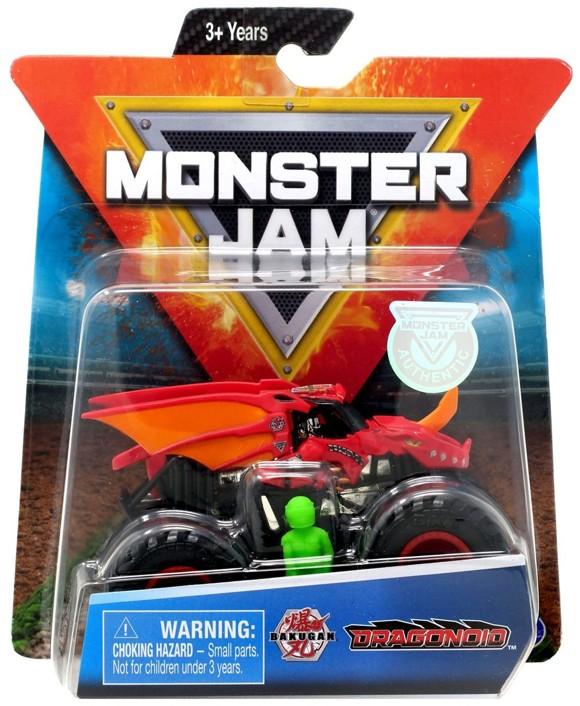Monster Jam - 1:64 Single Pack - Dragonoid (20106811)