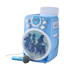 eKids - Frozen 2 - Bluetooth CDG Karaoke Machine with LED Disco Party Lights
