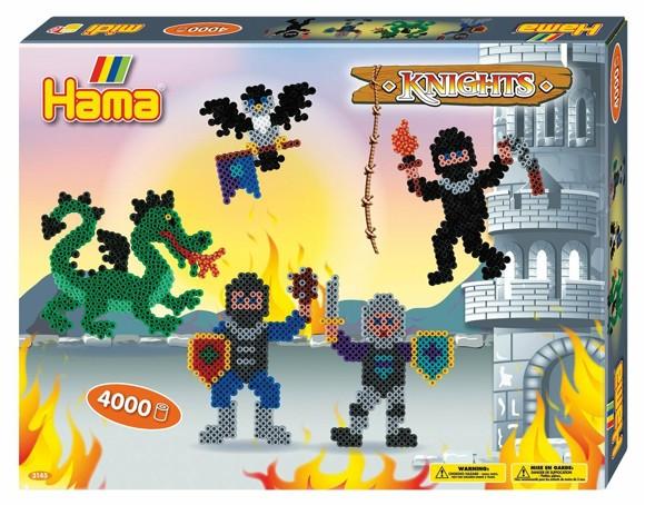 HAMA Beads - Midi - Giftbox - Knights (383145)