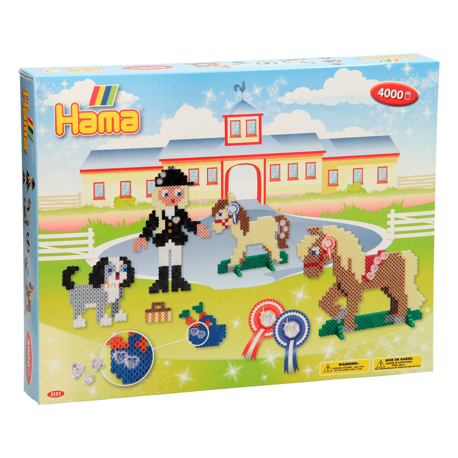 HAMA Beads - Midi - Giftbox - Riding School (383151)