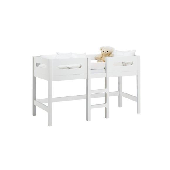 Baby Dan - Manhattan - Mid-High - Junior Bed - 70x160 cm - White (1122-01)