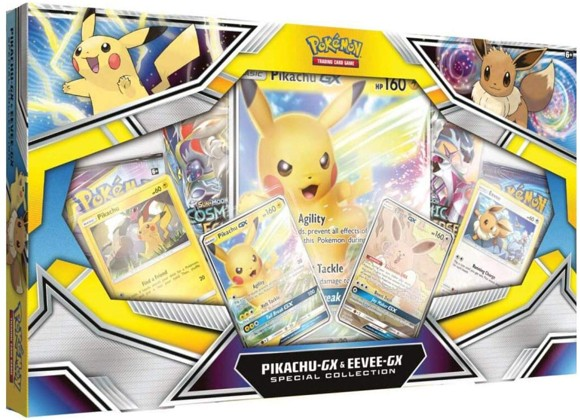 Pokemon - Pikachu & Eevee GX Special Box (Pokemon Kort)