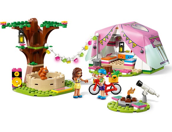 LEGO Friends - Luksuscamping i naturen (41392)