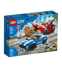 LEGO City - Anholdelse i trafikken (60242)