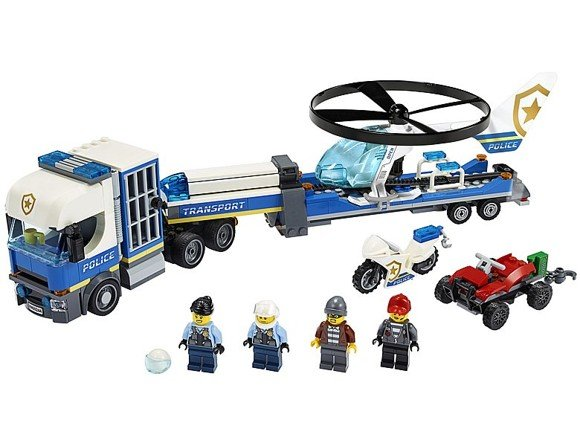 LEGO City - Police Helicopter Transport (60244)