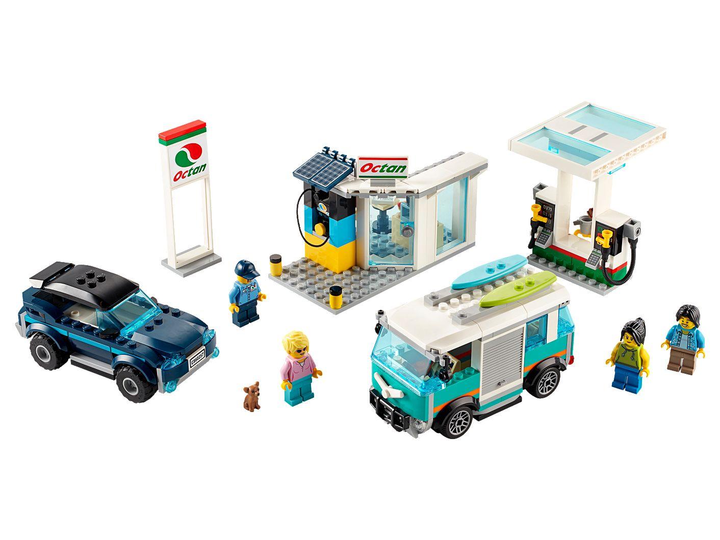 Auto City Lancaster >> Lego City Service Station 60257