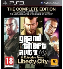 Grand Theft Auto IV Complete Edition & Episodes from Liberty City (NL/FR)