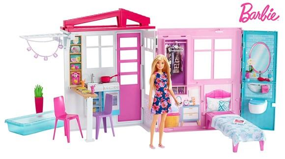 Barbie - Hus og Dukke
