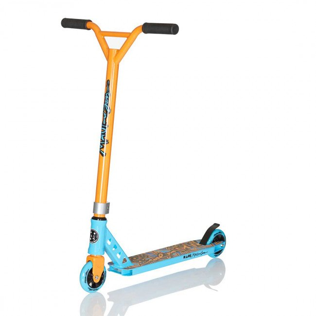Maui - Aggro Shark Trick Scooter - Blue/Orange (MSSC08401)