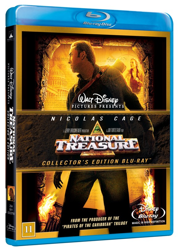 National Treasure - Blu Ray