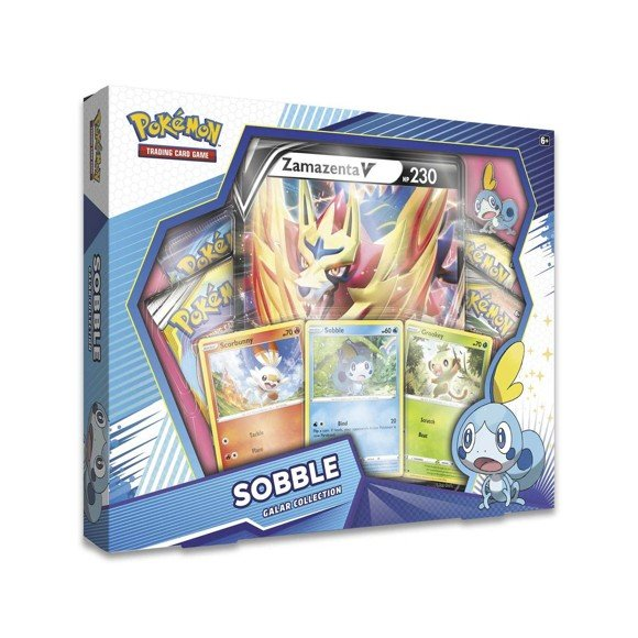 Pokémon - Poke Box Galar Collection - Sobble (Pokemon Kort)